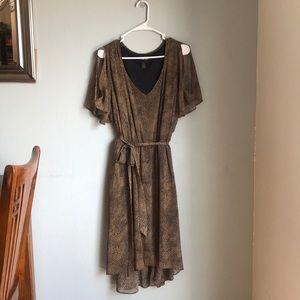 Beautiful plus size Lane Bryant dress